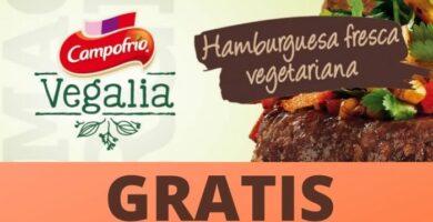 Hamburguesa vegetariana GRATIS