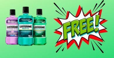 Listerine gratis