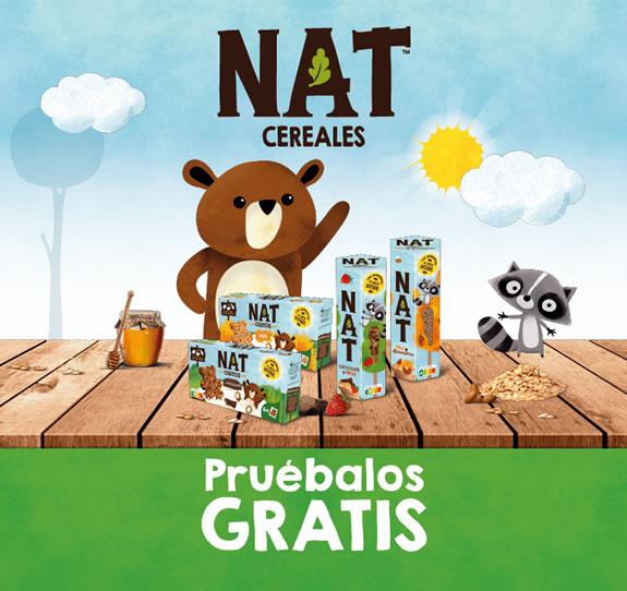 cereales gratis de Nestle